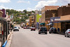Historic Bullard Street, the town's main drag, Silver City, New Mexico, USA