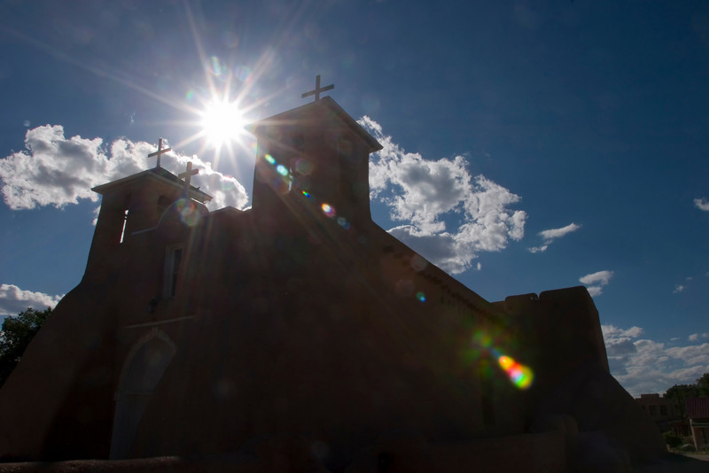San Francisco de Asis Church, Ranchos de Taos, NM.