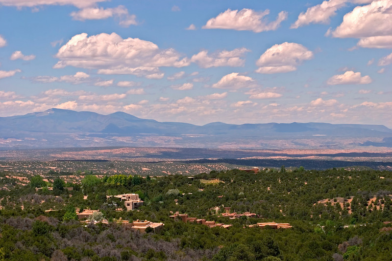 View from Dale Ball Trail System, Santa Fe, New Mexico, USA