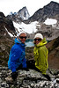 Bodacious Babes, Angie Smith and Denise Baynton, Heli-hiking vacation, Canadian Mountain Holidays, Canada.