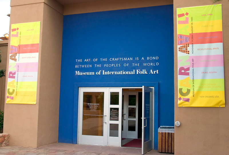 Museum of International Folk Art, Museum HIll, Santa Fe, New Mexico, USA.