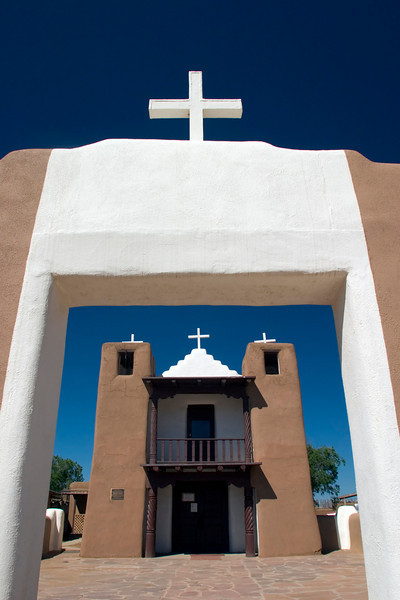 Church, Taos Pueblo, Taos, NM