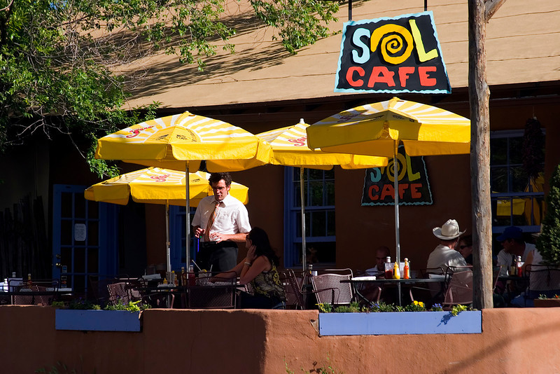 Sol Cafe, Canyon Road, Santa Fe, NM