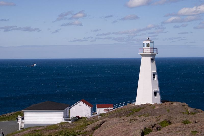 lighthouse, Cape Spear National Historic Site, easternmost point in North America, Newfoundland, Canada