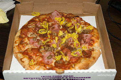 American Pizza sure is better than Danish.