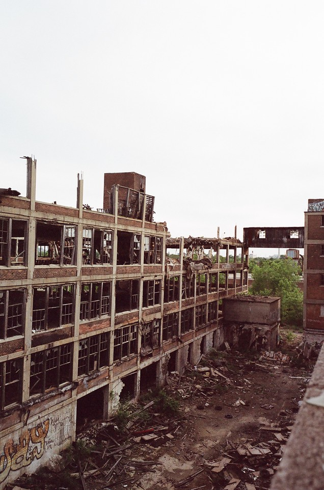 Abandoned Packard Plant