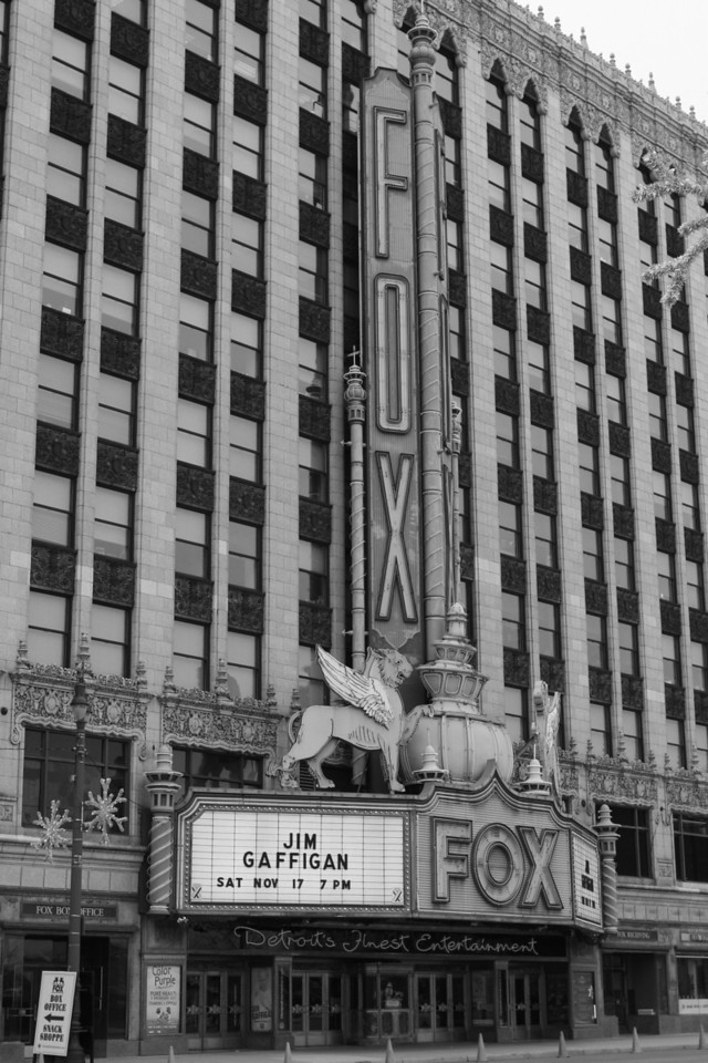 The world famous Fox theater.