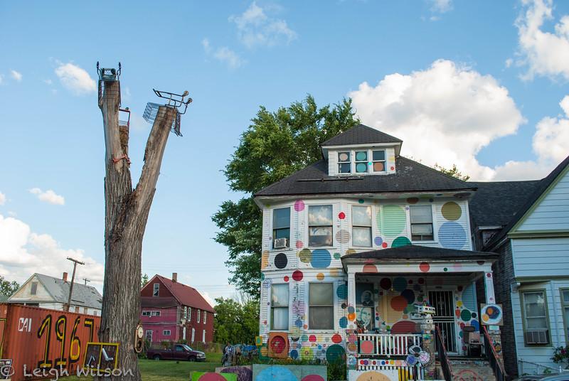 Heidelberg Project, Bubble House, Detroit