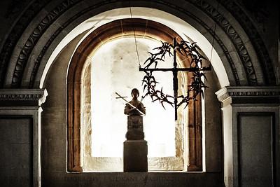 Avian Crucifix  Dom zu Trier.  Trier, Germany.