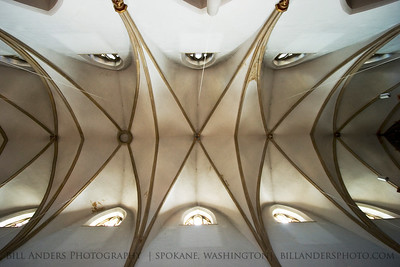 Cathedral Ceiling, Pfarramt St. Marien Catholic Church, Neustadt an der Weinstrasse, Germany