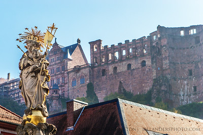 Kornmarkt Madonna, Heidelberg, Germany