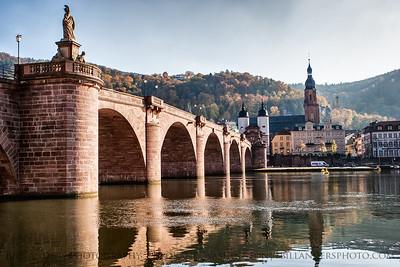 Altebrucke Morning, Heidelberg, Germany