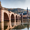 Altebrucke Morning, Heidelberg, Germany