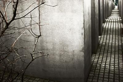 Etz Chaim  Holocaust Memorial aka Memorial to the Murdered Jews of Europe, Berlin, Germany.