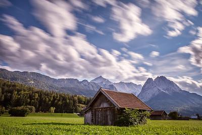 Bavarian Shed  Garmisch-Partenkirchen, Bavaria, Germany