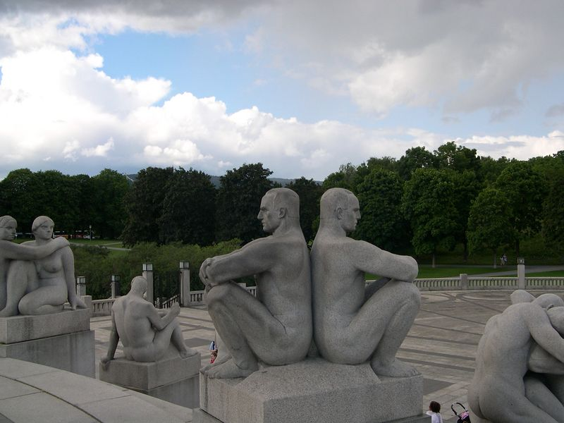 Monumental granite sculptures, Vigeland