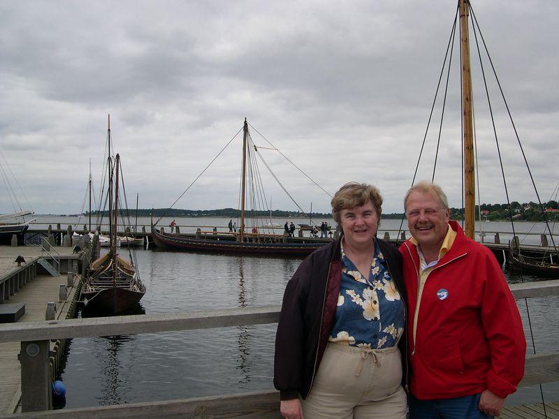 Susan with Kai Nielsen, our host in Copenhagen