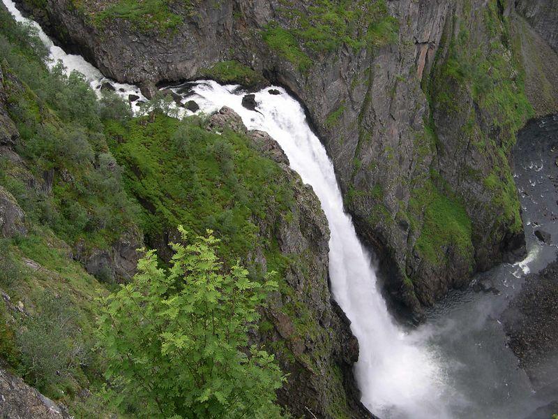 Voringfossen waterfall on the trip to Hardanger fjord