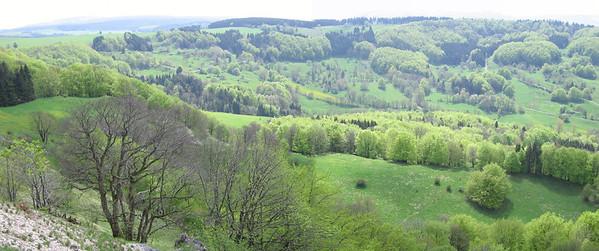 Uitzicht vanaf Pferdskopf