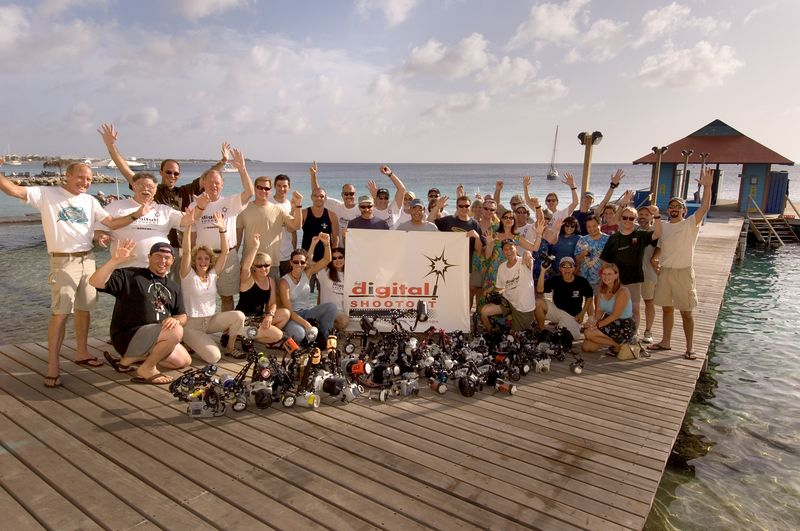 Bonaire Digital Shootout 2005 Group Photo