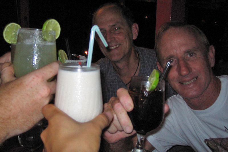 Cheers! (Jim Watt and Greg Bang)