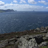 Great Blasket island and Tearaght Island from Clogher Head