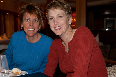 Holly Mitchell and Jennifer Hinkle