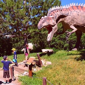 Dinosaur Park in Ogden, Utah