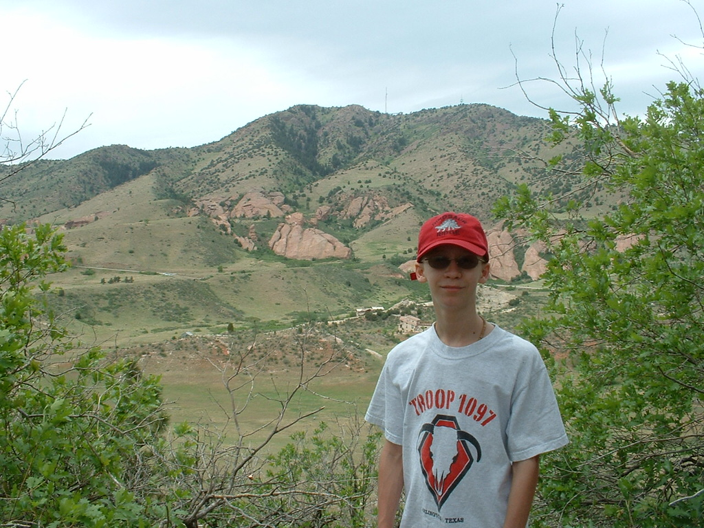 2006 - Morrison-Red Rocks area - views from Dinosaur Ridge - Tony