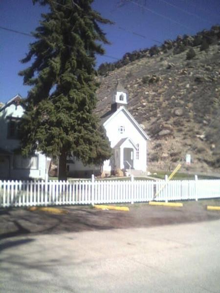 2006 - Morrison-Red Rocks area - the little chapel in downtown Morrison