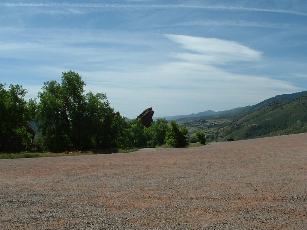 2006 - Morrison-Red Rocks area - Red Rocks area parking lot