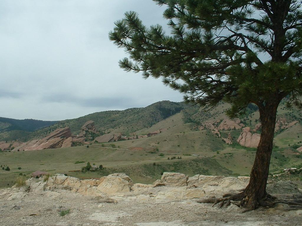 2006 - Morrison-Red Rocks area - views from Dinosaur Ridge - beautiful