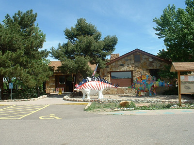 2006 - Morrison-Red Rocks area - Dinosaur Ridge museum