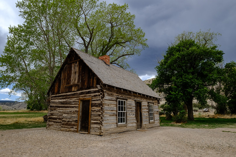 Butch Cassidy's Childhood Home.