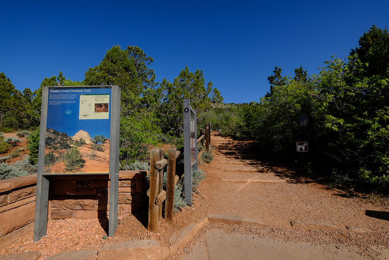 Overlook trail at the end of Kolob Canyon Road. Zion National Park.