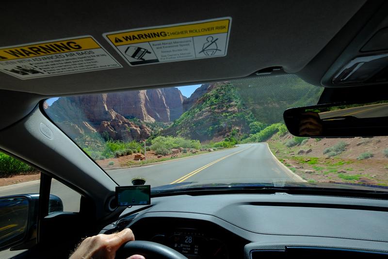 Kolob Canyon Road, Zion National Park.