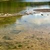 Dinosaur tracks in the Paluxy River, Paluxy River, Dinosaur Valley State Park