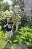 "Yes, me fleeing from <i><a href=""http://mambobob-raptorsnest.blogspot.com/2008/06/monolophosaurus-jiangi.html"">Monolophosaurus</a></i>...again."