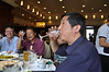 "...and some of Da-qing's crew here drinking baijiu (pronounced ""BAY-jo"").  I don't know what to say about baijiu...there are the facts, like it is a sorghum-based liquor native (as far as I know) to China, it has a very licorice-like aftertaste (well, the ""good"" stuff does), and many natives (mostly men, that I've seen) drink it the way some of us drink water.  Then there's my own personal opinions: it's a terrible, vile, evil drink that is only good for two things: degreasing engines and killing brain cells.  'Course, that's probably heavily biased seeing as what it did to me this very evening..."
