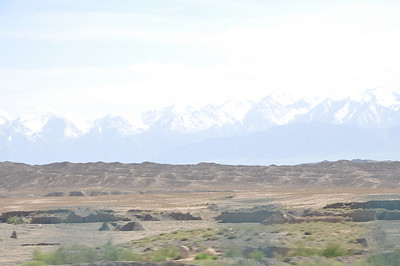 More of the Qilian Mountains.