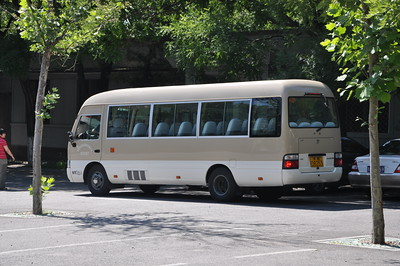 This is the bus we rode in on.  Something much more than a van, but less than almost any bus I've seen stateside.