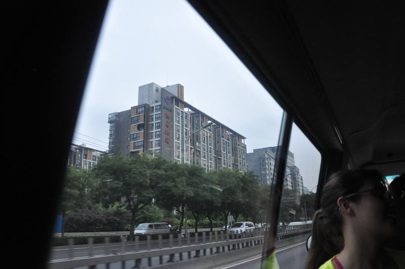 Typical Beijing apartment building.