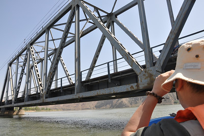 ...very low bridge!