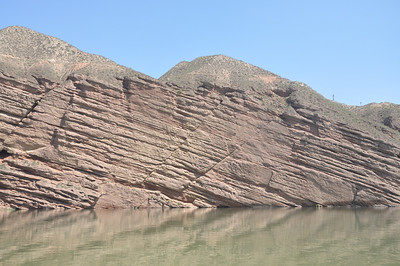 More of the same outcrop, with more little faults.