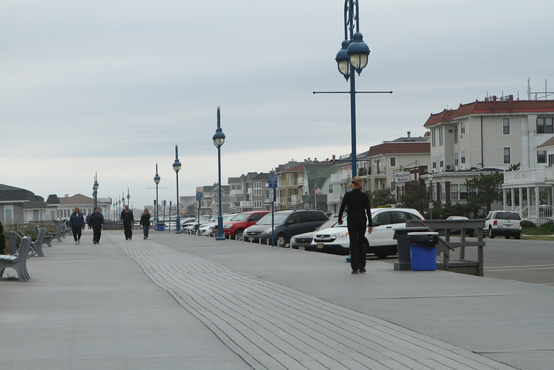 Boardwalks are for strolling and biking - some have been rebuilt with long lasting synthetic materials