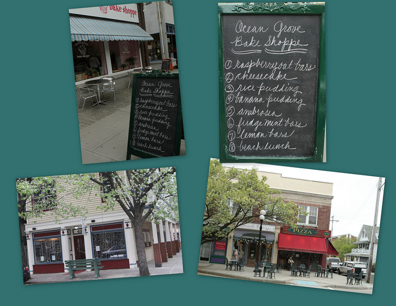 From Bake Shoppe, to Pizza,.Ocean Grove is a square mile worth walking for sight seeing as well as eating