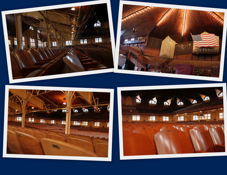 For the Reverend Billy Graham Junior program, all of the seats will be removed - for the first time in 85 years.