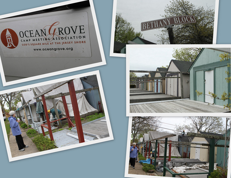 Ocean Grove Camp Meeting Association - these compact cabins are leased by the same families for up to 100 years.