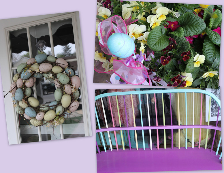 The Spring Easter theme is still running strong in May in Spring Lake