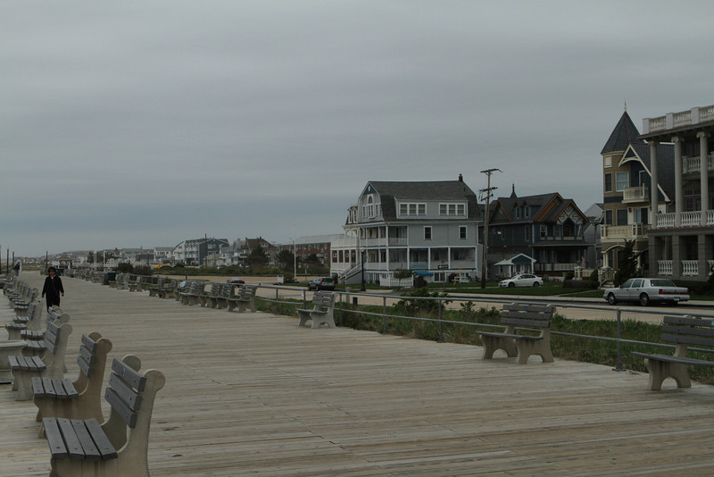 The Boardwalk extends for miles and miles in either direction with few interruptions